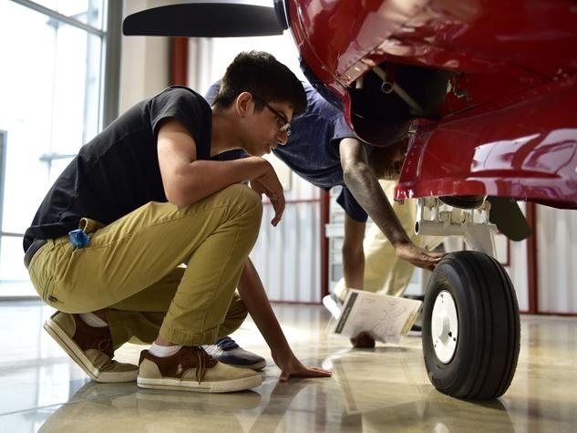Lone Star Flight Museum Aviation Learning Center