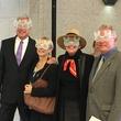 Ted Zwieg, Debra Simon, Terri Diraddo, David Robinson at Bunnies Intrude art installation 1600 Smith