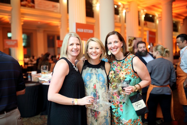 News, Taste of the Nation, Sept. 2015, Erin Campbell, from left, Kristin Reynolds and Anne Liddle