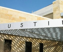 exterior of Austin City Hall