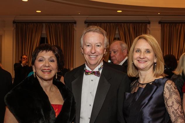 9 Joana Tagaropulos, left, with Randy and Juli Fournier at the Gaston LeNotre Scholarship Gala February 2015