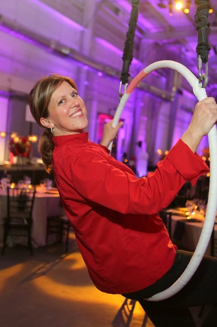 Barbara McKnight at the March of Dimes Signature Chefs event October 2014