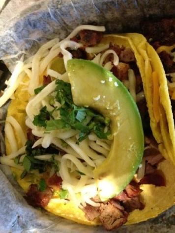 Texas Taco Co. Magnolia taco with avacado