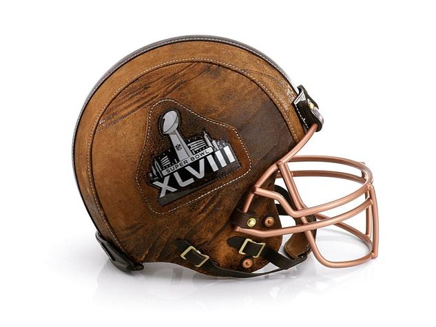 Billy Reid helmet for Bloomingdale's Fashion Touchdown