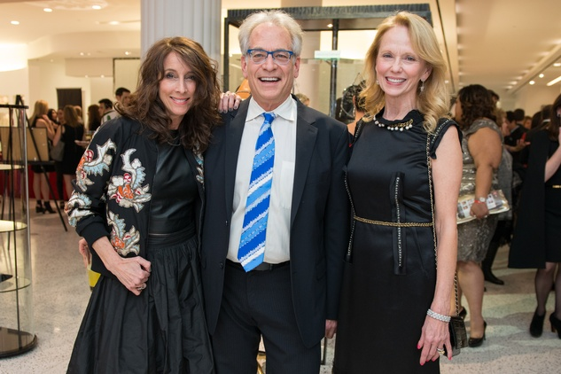 Leah Hale, from left, Mickey Rosmarin and Susan Sarofim at the Tootsies Love's in Fashion event February 2015