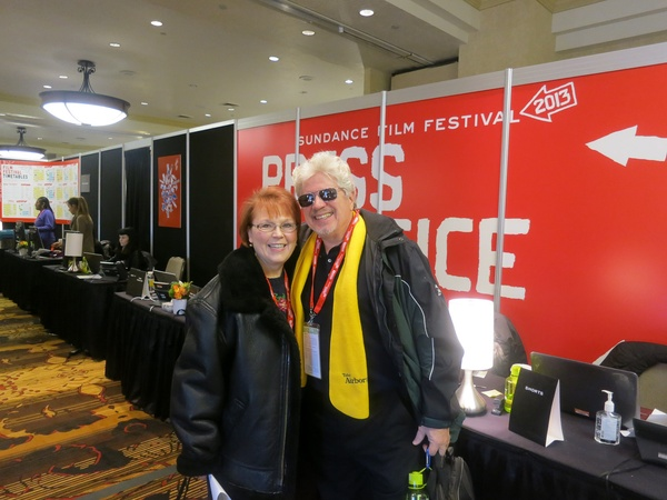 Houstonians at Sundance, January 2013, Maureen Herzog, R.D. Walker