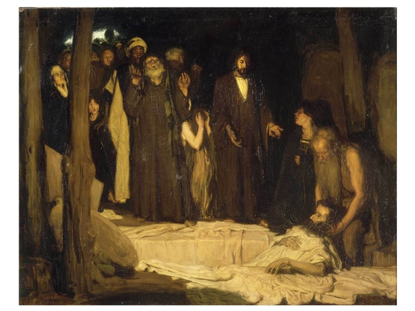 Museum of Fine Arts, Houston, Henry Ossawa Tanner,  Modern Spirit, October 2012, The Resurrection of Lazarus