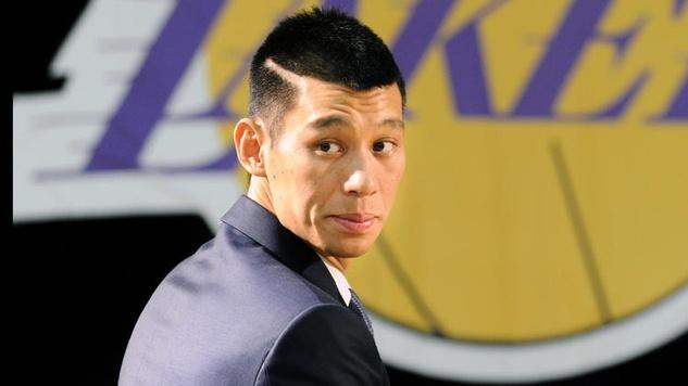 Jeremy Lin Lakers logo
