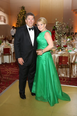 Tim and Elizabeth Vail at the Houston SPA Society for the Performing Arts Gala March 2015