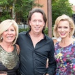 Susan Spain, Gerald Attrick, Kate Rose Marquez, taca party on the green