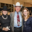 Randee and Bob Miller, from left, with Pamela Thompson at the HLSR Hide Party January 2014
