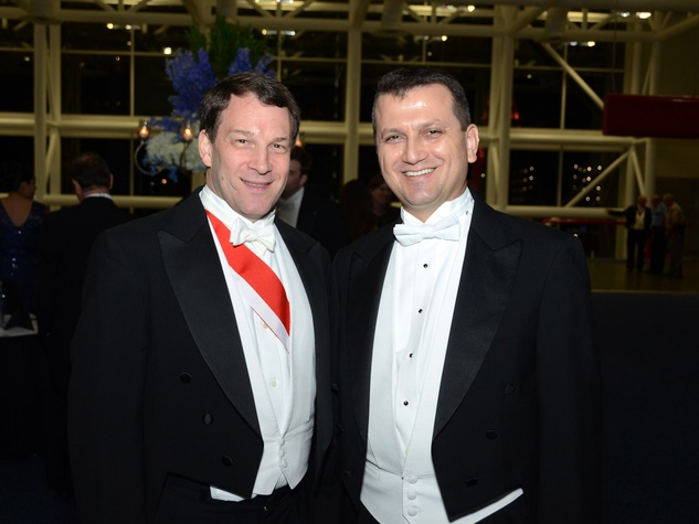 238 Cemalettin Aydin, left, and Blake Samuel at the Consular Ball October 2013