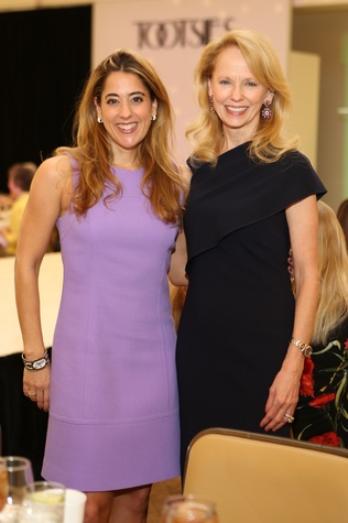 Kristina Somerville, left, and Susan Sarofim at the St. Luke's Friends of Nursing luncheon March 2015