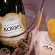 Korbel, mimosa, 2017 CultureMap Dallas Holiday Pop-up