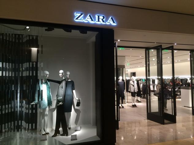 Zara exterior Galleria store