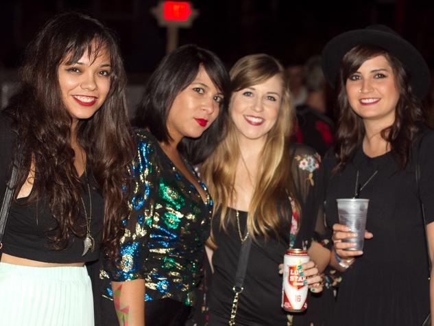 Fashion Freakout 6 at Hotel Vegas in Austin Danielle Houtkooper Michelle Galvan Cassie Rousch Lillie Frechette