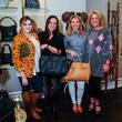 Lauren Sanford, from left, Jess Rogers, Jenna Jackson and Jennifer Lasida at Elaine's Big Life premier party at Elaine Turner November 2014