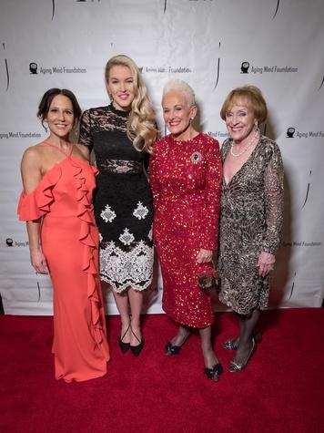 Aging Mind Foundation Gala 2018, Cara Owens, Ashley Campbell, Barbara Daseke, Laree Hulshoff