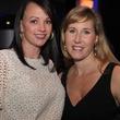 Melissa Ramirez, left, and Michelle Wasaff at the Royal Sonesta Hotel renovation unveiling November 2013