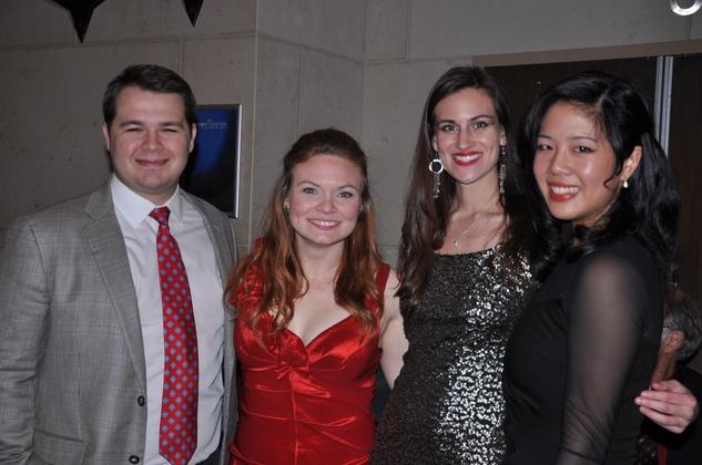 Joe Fleming, Lauren Gilmore, Alexis Ettinger, Mandy Yue, Ars Lyrica NYE 2013