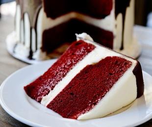 Ooh La La, red velvet cake