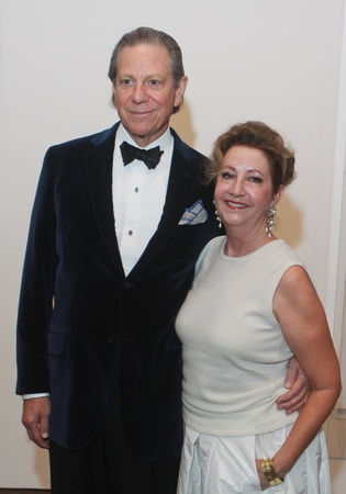 The Menil 25th anniversary gala, December 2012, Harry Pinson, Karen Pinson