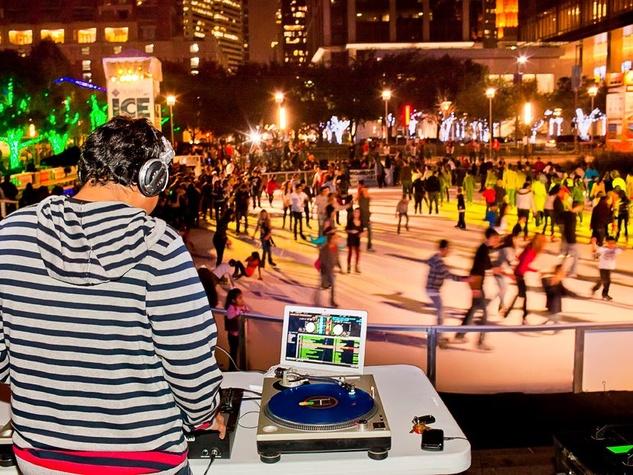 News_Discovery Green_ice skating_ice rink_DJ