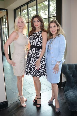 News, Shelby, HFAF party, August 2014, Ludmila Lumen, Parissa Mohajer, Pilar de la Garza