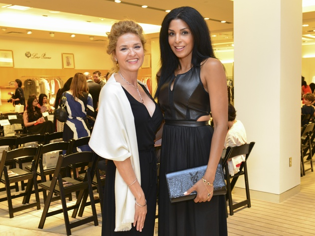 1 Sandi Ramirez, left, and Ursaline Hamilton at the International Mother's Day Soiree May 2014