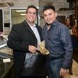 15 Roland Maldonado, left, and Edward Sanchez at the Cacao & Cardamom party November 2014