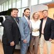 News, Shelby, BMW West grand opening, June 2015, Wayne Schulte, Tommy Kuranoff, Gil & Traci Harris
