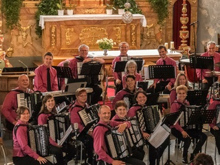 ARTS San Antonio presents 2017 Swiss Cultural Tour, Aesch Accordion Orchestra and Schlossbrunneli Yodeling Club from Aesch and Moriken, Switzerland