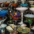 1 Artisan martini glasses at Martini Madness February 2014