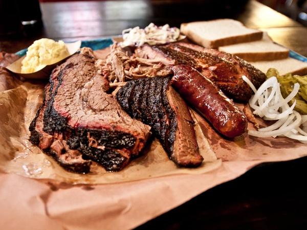 Image result for Presidential Plate franklin restaurant austin texas