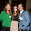 Hollis Grace, from left, Elizabeth Wood and Jesse Weaver at the Pin Oak Charity Horse Show kick-off February 2014