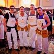 14 Christopher Mendel, from left, Don Mafrige Jr., David Haynes and William Westhoff at the Orange Show Gala November 2014.