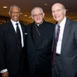 William Lawson, from left, Joseph Fiorenza and Samuel Karff at the ADL Houston in Concert Against Hate November 2013