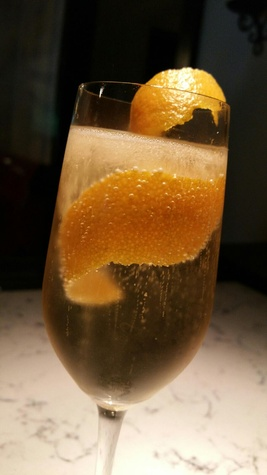 Mothers Day Brunch at Anejo, Orange Kiss cocktail, May 2015
