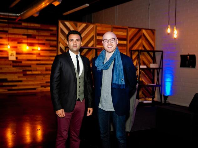 Imran Sheikh, Matt Alexander at Need anniversary party