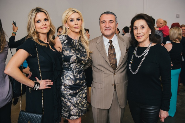 18 Reagan Bauer, from left, Danielle Cullen, Iraj Taghi and Mary Cullen at the Amir Taghi launch May 2014