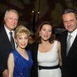 Alley Theatre Gala May 2013 Jim Daniel and Margaret Alkek Williams, from left, with Karin Hofer and Sean Hepburn Ferrer