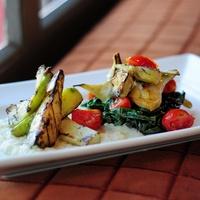 Artichoke salad at Bolsa restaurant in Dallas