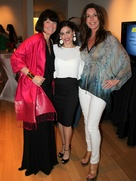 Lisa Garza, Stacy Girard, Holly Forsythe, Celebrity Waiter Kick-Off