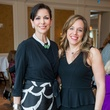 16 Lynn Zeid, left, and Laura Mayer at the Passion for Fashion luncheon March 2015