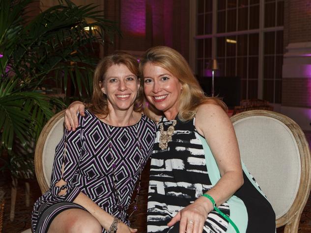 Jill Cumnock, Diane Fullingim, RMH Young Friends Party