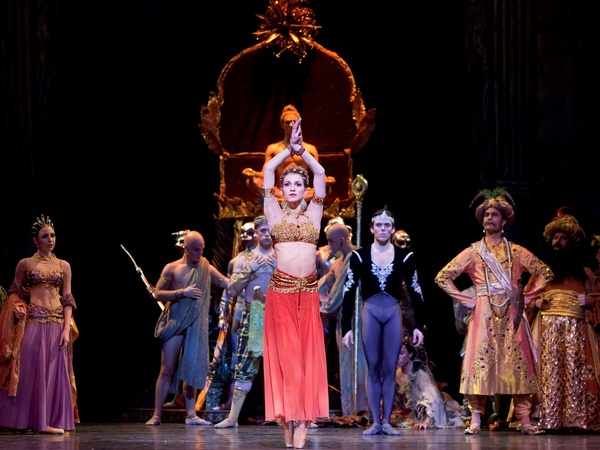 Nancy, Life in the Middle, January 2013, La Bayadere, Houston Ballet, Kelly Myernick and Artists of Houston Ballet, January 2013