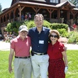 Dr. Eric Haufrecht, from left, Dr. Mauro Ferrari and Joyce Haufrecht Houston Methodist in Aspen July 2014
