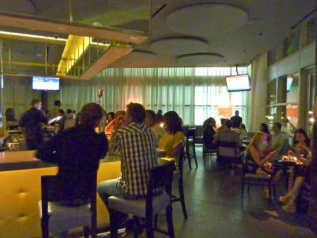 Tarra Gaines, Private Social, Dallas restaurant, July 2012 social