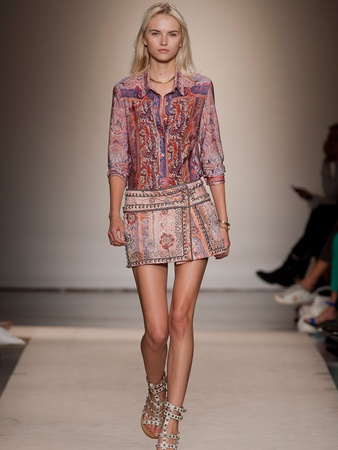 Lindley Arnoldy, Isabel Marant, Paris Fashion Week, October 2012