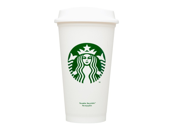 Starbucks, reusable cup